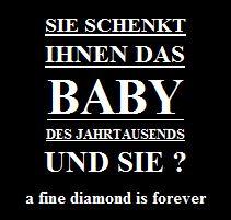 Diamant Baby Jahrhun