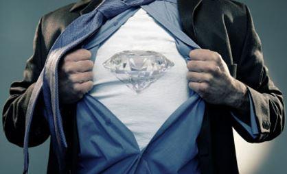 Diamant Brand im Herz