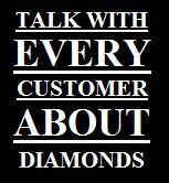 Diamant Slogan Customer