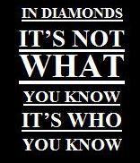 Diamant who you know