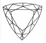 Diamant Schliff Troidia