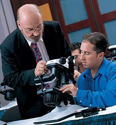 Diamant Schulung Mikroskop