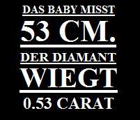 Diamant Slogan 53cm