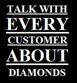 Diamant Slogan Customer
