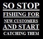 Diamant Slogan stop fishing