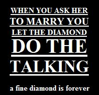 Diamant Slogan talking