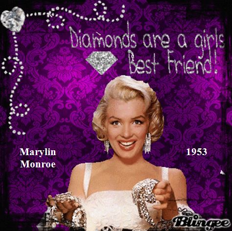 Diamond Dream Monroe 1953