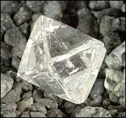 Diamond Rough Oktaeder