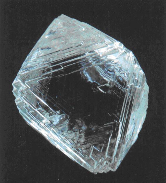 Diamond Rough Tereschkowa Oktaeder