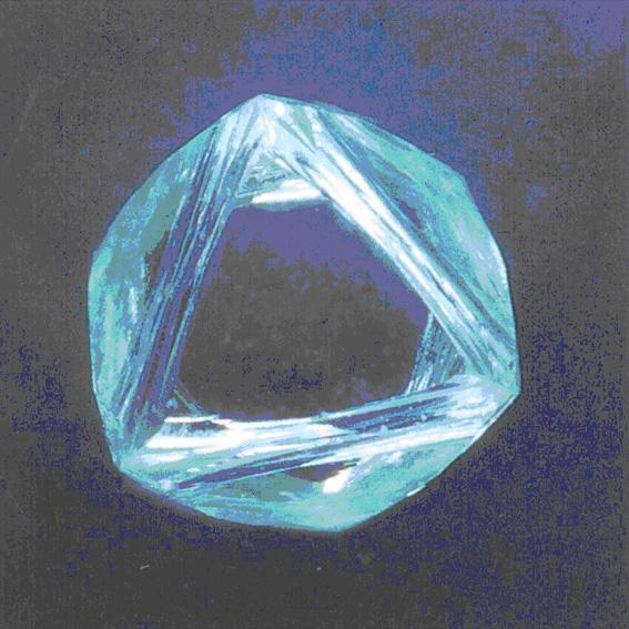 Diamond Rough Glassy
