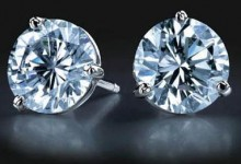 Solitaire earstuds